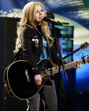 This is an image of 268021 Avril Lavigne Photograph & Poster