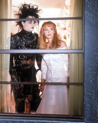 This is an image of 269619 Edward Scissorhands Photograph & Poster