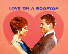 This is an image of 266432 Love on a Rooftop Photograph & Poster