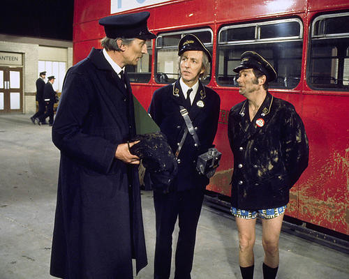 This is an image of 269809 On the Buses Photograph & Poster