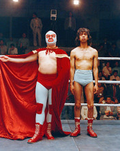 This is an image of 273430 Nacho Libre Photograph & Poster