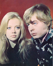This is an image of 277171 Hayley Mills & Hywel Bennett Photograph & Poster