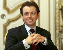 This is an image of 273241 Michael Sheen Photograph & Poster