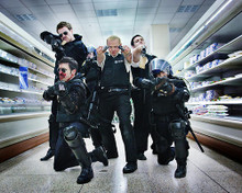 This is an image of 275584 Hot Fuzz Photograph & Poster