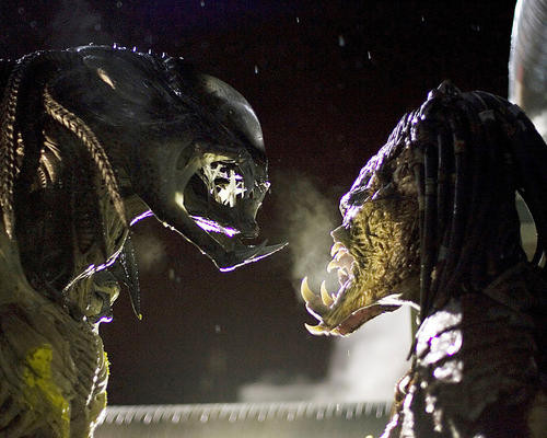 This is an image of 277819 Aliens Vs Predator Requiem Photograph & Poster