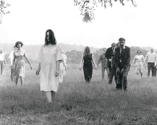 This is an image of 193470 Night of the Living Dead Photograph & Poster