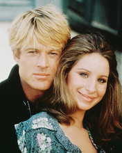 This is an image of 219212 Robert Redford & Barbra Streisand Photograph & Poster