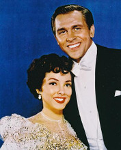 This is an image of 227897 Howard Keel & Kathryn Grayson Photograph & Poster