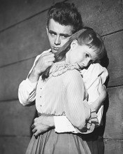 This is an image of 170046 James Dean & Julie Harris Photograph & Poster