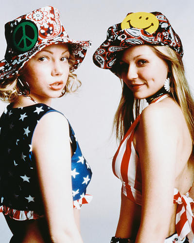 This is an image of 237761 Michelle Williams & Kirsten Dunst Photograph & Poster