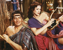 This is an image of 254574 Victor Mature & Hedy Lamaar Photograph & Poster