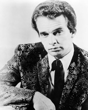 This is an image of 194207 Merle Haggard Photograph & Poster