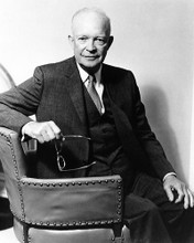 This is an image of 196594 Dwight D Eisenhower Photograph & Poster