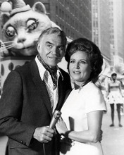 This is an image of 197996 Betty White and Lorne Greene Photograph & Poster