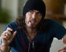 This is an image of 280139 Russel Brand Photograph & Poster