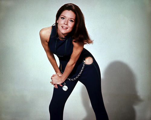 This is an image of 280739 Diana Rigg Photograph & Poster