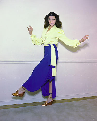 This is an image of 280944 Rita Hayworth Photograph & Poster