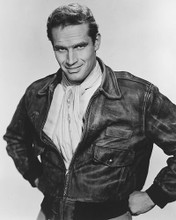 This is an image of 190311 Charlton Heston Photograph & Poster