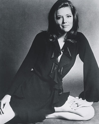 This is an image of 190621 Diana Rigg Photograph & Poster