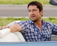 This is an image of 281089 Gerard Butler Photograph & Poster