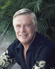 This is an image of 281100 George Peppard Photograph & Poster