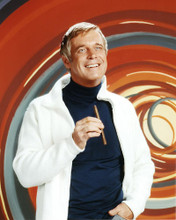 This is an image of 281138 George Peppard Photograph & Poster