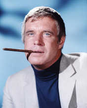 This is an image of 281139 George Peppard Photograph & Poster