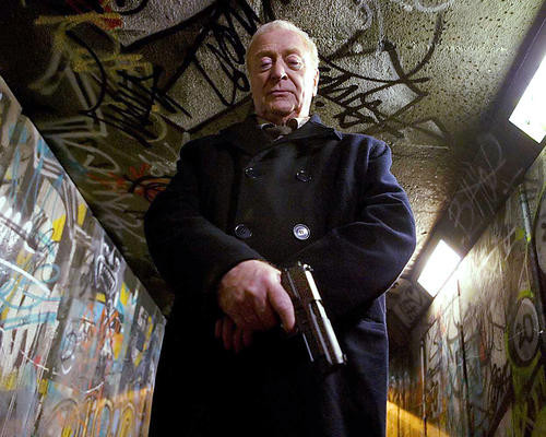 This is an image of 281227 Michael Caine Photograph & Poster