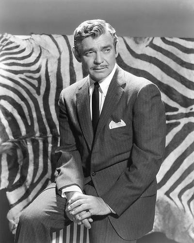 This is an image of 191011 Clark Gable Photograph & Poster