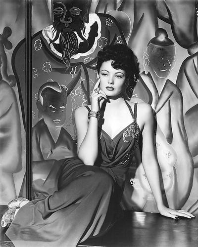 This is an image of 192477 Gene Tierney Photograph & Poster