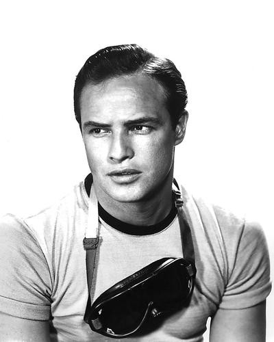 This is an image of 191546 Marlon Brando Photograph & Poster