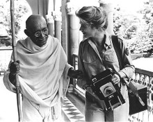 This is an image of 191610 Gandhi Photograph & Poster