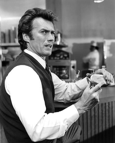 This is an image of 191840 Clint Eastwood Photograph & Poster
