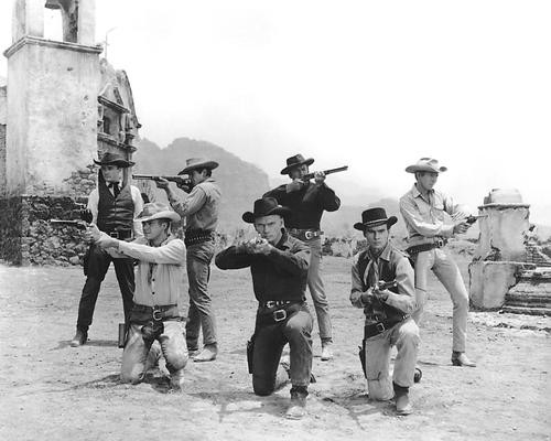 This is an image of 191879 The Magnificent Seven Photograph & Poster