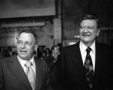 This is an image of 191851 John Wayne and Frank Sinatra Photograph & Poster