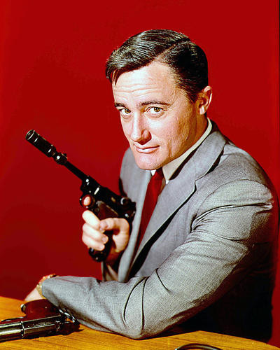 This is an image of 281797 Robert Vaughn Photograph & Poster