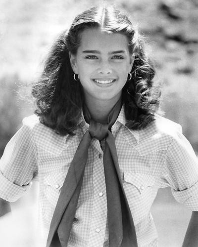 This is an image of 192054 Brooke Shields Photograph & Poster