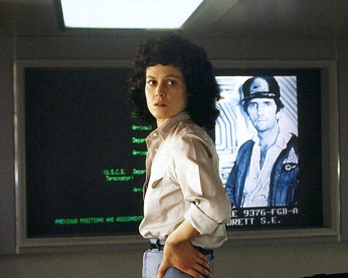 This is an image of 281747 Sigourney Weaver Photograph & Poster