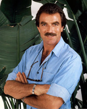 This is an image of 281839 Tom Selleck Photograph & Poster