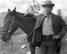 This is an image of 192324 Paul Newman Photograph & Poster