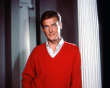 This is an image of 282043 Roger Moore Photograph & Poster