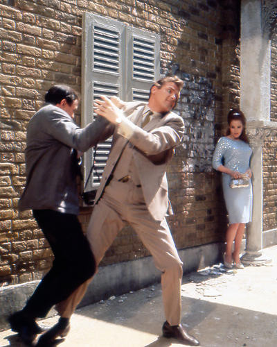 This is an image of 282044 Roger Moore Photograph & Poster