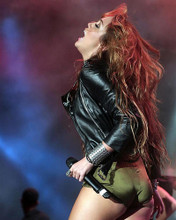 This is an image of 282053 Miley Cyrus Photograph & Poster
