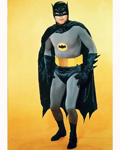 This is an image of 282061 Adam West Photograph & Poster