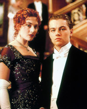This is an image of 227829 Leonardo Dicaprio & Kate Winslet Photograph & Poster