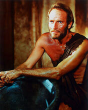 This is an image of 228601 Charlton Heston Photograph & Poster