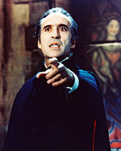 This is an image of 234133 Christopher Lee Photograph & Poster