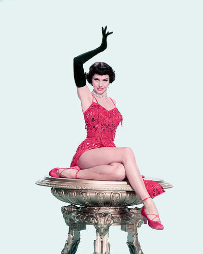 This is an image of 241203 Cyd Charisse Photograph & Poster