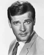 This is an image of 170321 Roger Moore Photograph & Poster