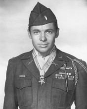This is an image of 171040 Audie Murphy Photograph & Poster